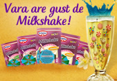 Vara are gust de milkshake!